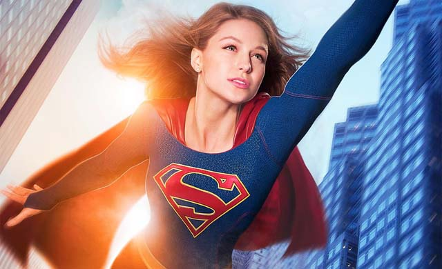 Supergirl Promo Flyer