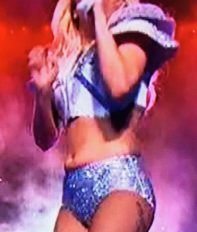 Lady Gaga was Fat at the Superbowl