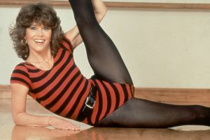 Jane Fonda Working Out